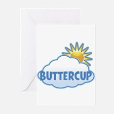 buttercup (clouds) Greeting Cards (Pk of 10)