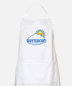 buttercup (clouds) BBQ Apron