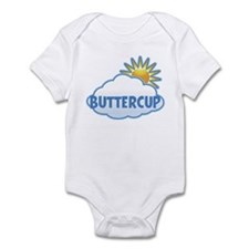 buttercup (clouds) Infant Bodysuit