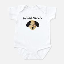 CASANOVA (dog) Onesie