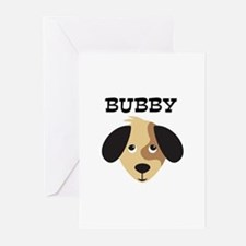BUBBY (dog) Greeting Cards (Pk of 10)