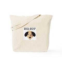 BIG-BOY (dog) Tote Bag