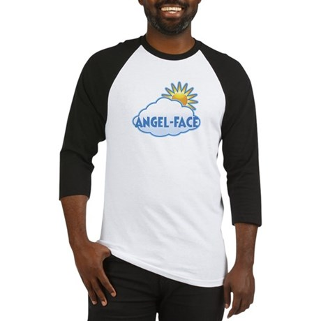 angel-face (clouds) Baseball Jersey