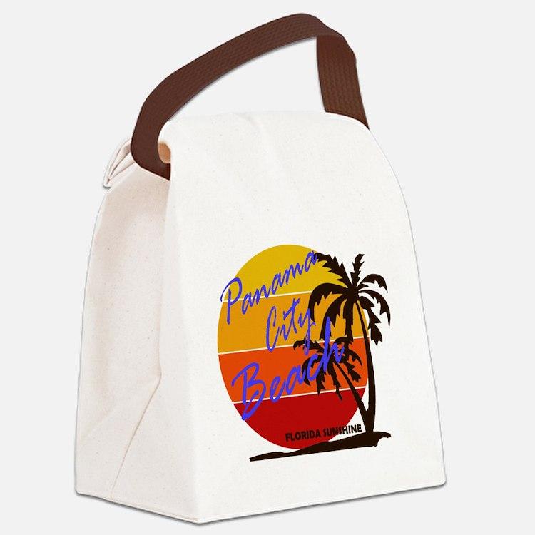 Cute Sun sand Canvas Lunch Bag
