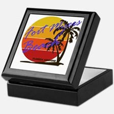 Funny Summer vacations Keepsake Box