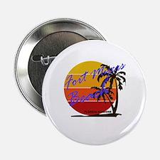 """Cool Beach 2.25"""" Button"""