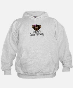 PopPop's Little Monkey GIRL Hoodie