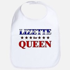 LIZETTE for queen Bib
