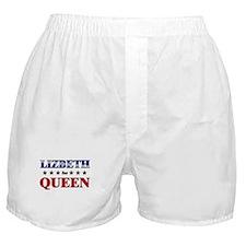 LIZBETH for queen Boxer Shorts