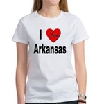 I Love Arkansas (Front) Women's T-Shirt