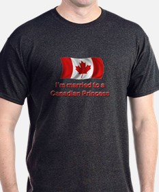 Married To Canadian Princess T-Shirt