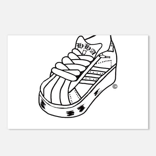heavyhitteracademy.comH.H.A shoe black Postcards (