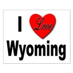 I Love Wyoming Small Poster
