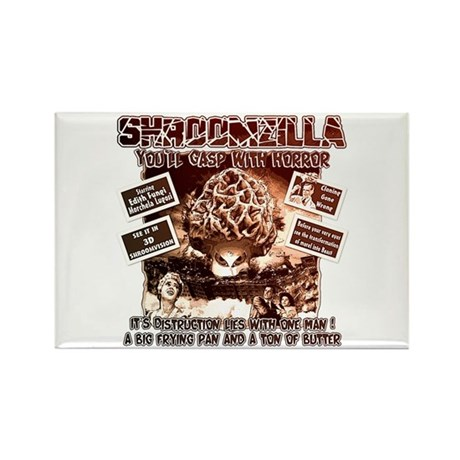 Morel insearch of Shroomzilla Rectangle Magnet (10