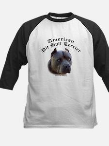 american pit bull terrier Kids Baseball Jersey