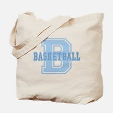 Basketball (Blue) Tote Bag