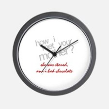 Stoned How I Met Your Mother Wall Clock