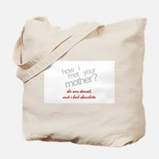Crude HIMYM How I Met Your Mother Tote Bag