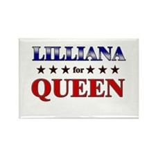 LILLIANA for queen Rectangle Magnet