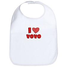 I heart VoVo Bib