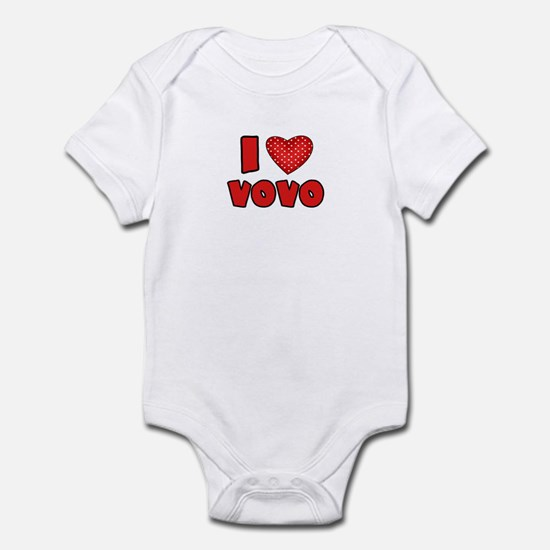 I heart VoVo  Infant Bodysuit
