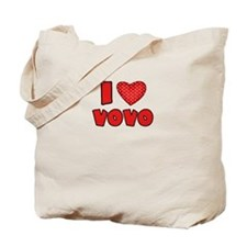 I heart VoVo Tote Bag