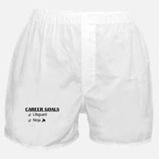 Lifeguard Career Goals Boxer Shorts