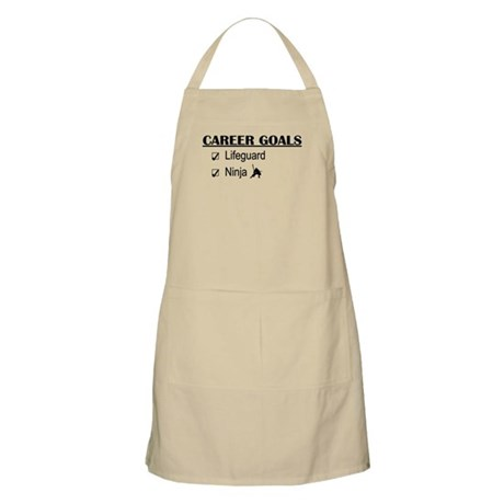Lifeguard Career Goals BBQ Apron