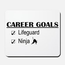 Lifeguard Career Goals Mousepad