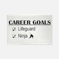 Lifeguard Career Goals Rectangle Magnet