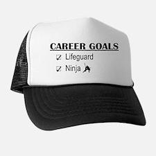 Lifeguard Career Goals Trucker Hat
