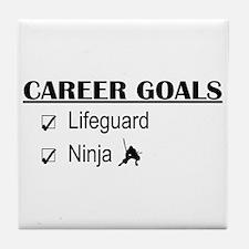 Lifeguard Career Goals Tile Coaster