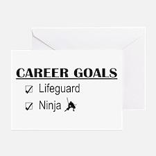 Lifeguard Career Goals Greeting Cards (Pk of 10)