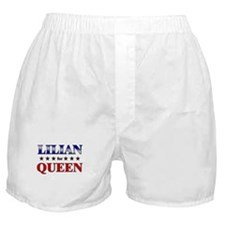 LILIAN for queen Boxer Shorts