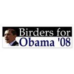 Birders for Obama '08 Bumper Sticker