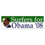 Surfers for Obama '08 bumpersticker