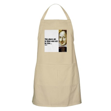 "Shakes ""Be True"" BBQ Apron"