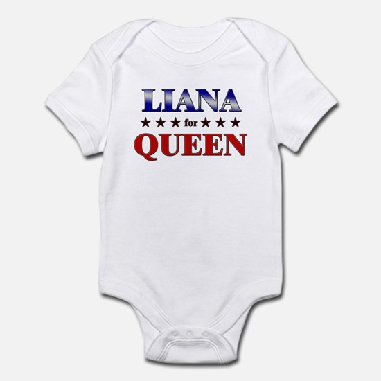 LIANA for queen Infant Bodysuit