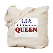 LIA for queen Tote Bag