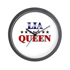 LIA for queen Wall Clock