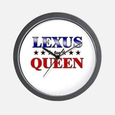 LEXUS for queen Wall Clock