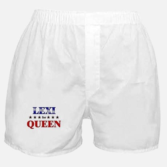 LEXI for queen Boxer Shorts