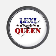 LEXI for queen Wall Clock