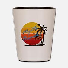Unique Myrtle beach Shot Glass
