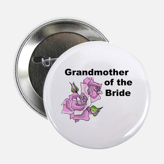 """Grandmother of the Bride 2.25"""" Button"""