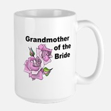 Grandmother of the Bride Large Mug