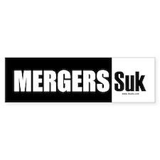 Mergers Suk Bumper Bumper Sticker