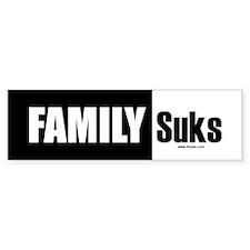 Family Suks Bumper Bumper Sticker