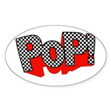 PoP! Goes My Heart Oval Decal