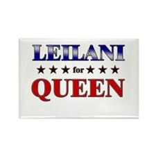 LEILANI for queen Rectangle Magnet